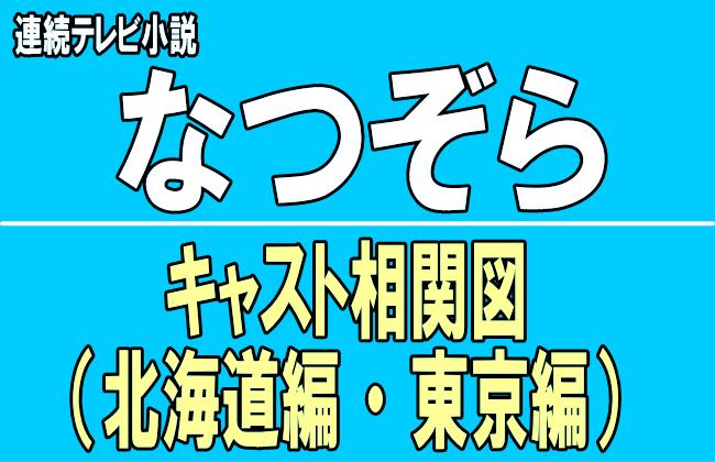 朝ドラ『なつぞら(夏空)』のキャスト相関図!広瀬すずの子役から出演者まで紹介