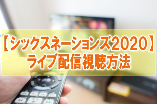 シックスネーションズ2020のライブ配信のWOWOWとテレビ地上波放送日程